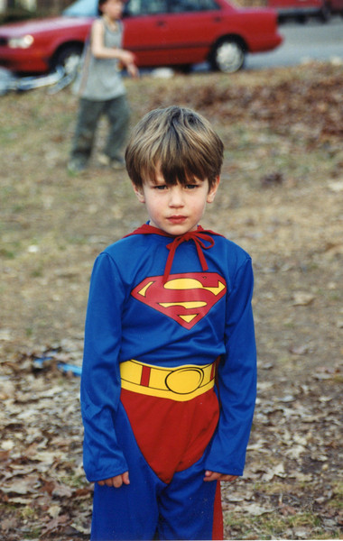 Benjamin's 5th birthday - 2003