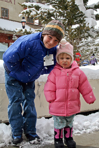 Benjamin and JanieCate - Breckenridge: March, 2008