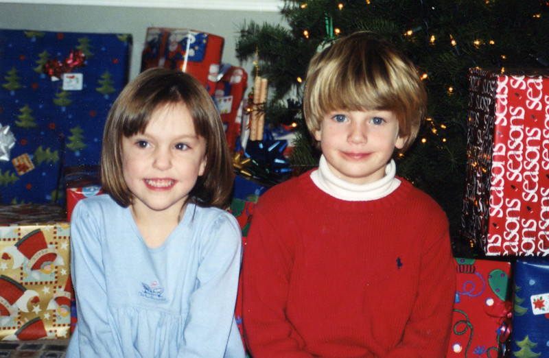 Claire and Benjamin - 2003
