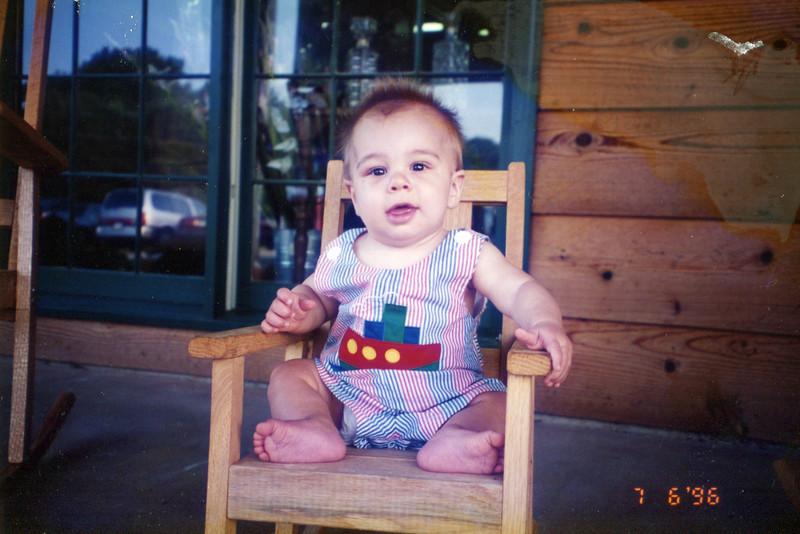 Brady - In front of the Cracker Barrel: 1996