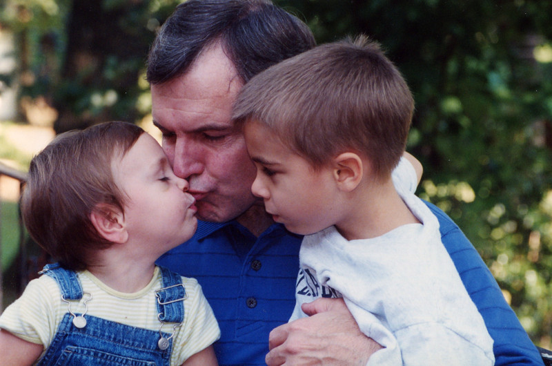 Pop, Claire and Brady - 2001
