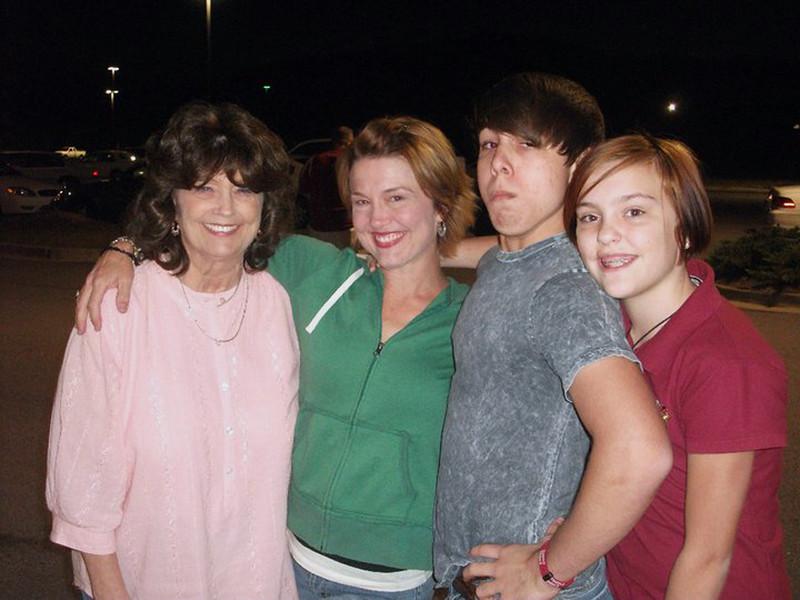 Janet, Erin, Brady & Claire