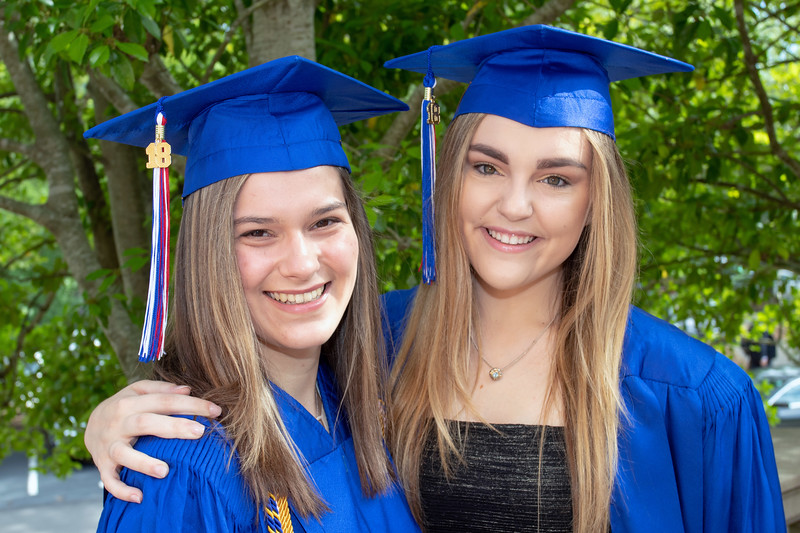 Claire Graduates from Homewood High