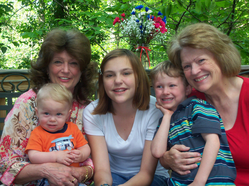 Patrick, Janet, Claire, Noah and Jeannie<br /> October 2011