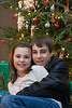 Claire and Brady<br /> Christmas, 2009