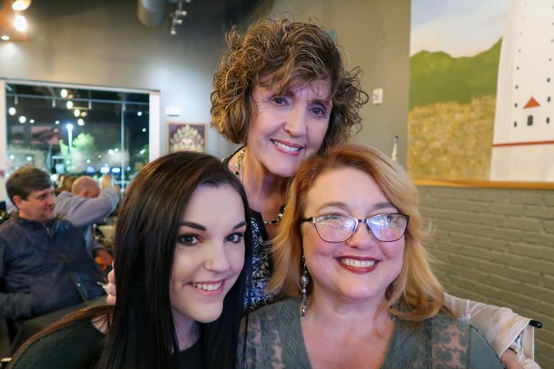 Claire, Mimi, Erin