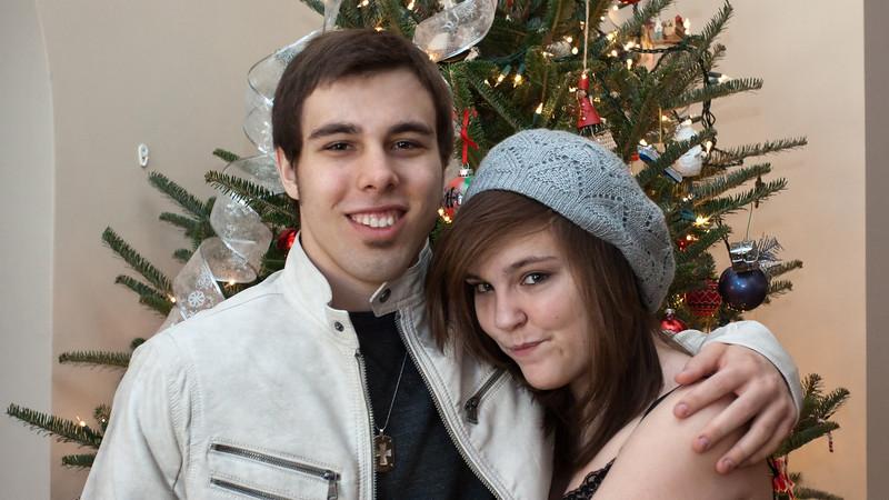 Brady & Claire<br /> Christmas 2012