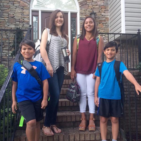 Claire & Siblings - 1st Day of School