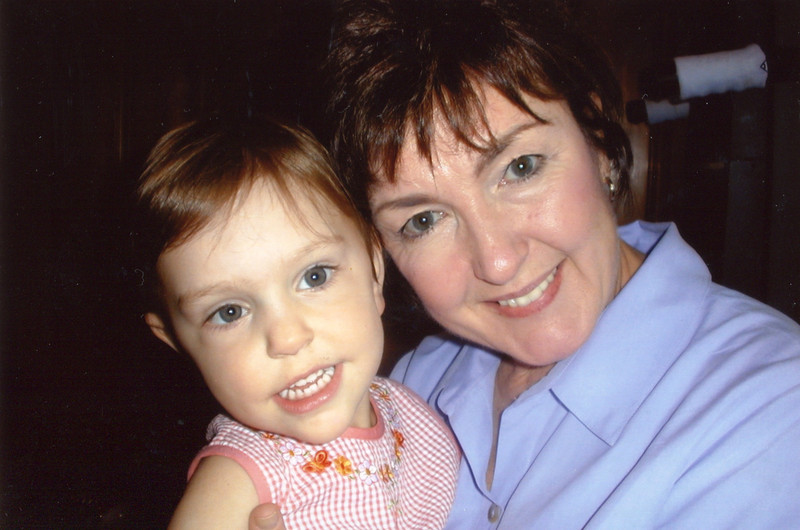Claire and Mimi - 2002