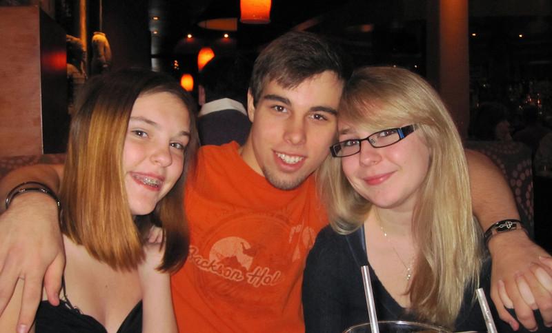 Claire, Brady and Sarah<br /> November 2011