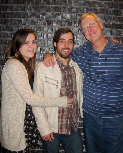Claire, Brady & Pop