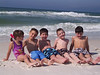 From Left: Claire, Brady, Cole, Myers, and Mason<br /> April, 2004