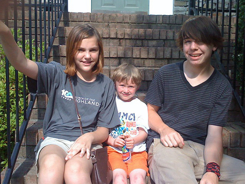 Claire, Noah and Myers - June, 2011