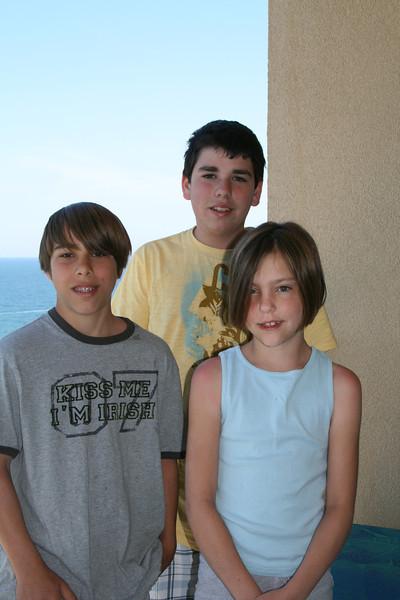 Brady, Joseph and Claire - April, 2008