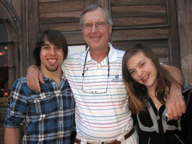 Brady, Pop & Claire - May 8, 2012
