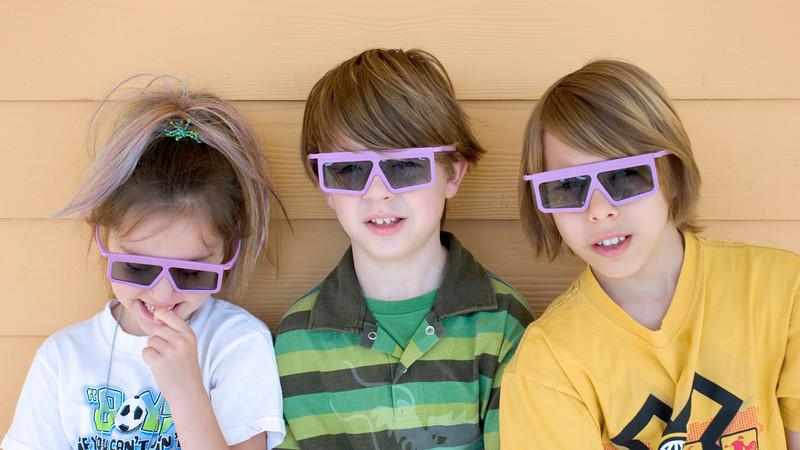 Claire, Myers, Brady<br /> DisneyWorld - March, 2007
