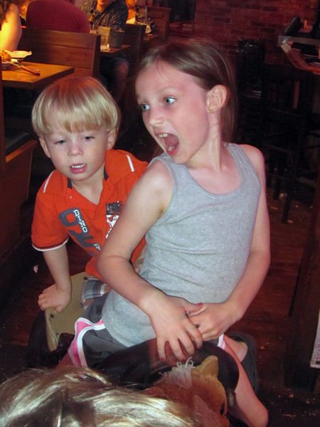 Patrick & JC<br /> At the Texas Roadhouse Restaurant<br /> May 2013