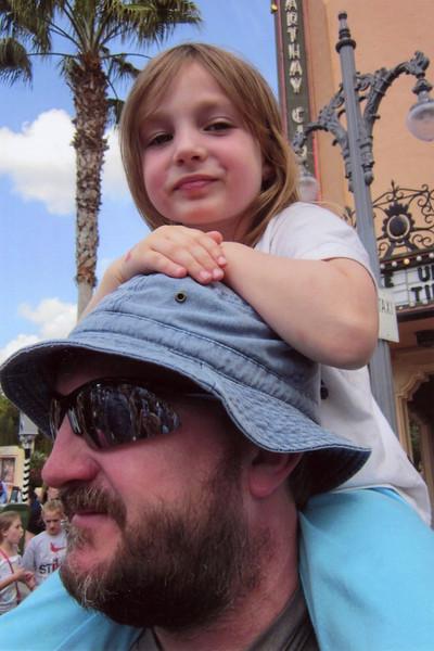 Nelson and JanieCate - DisneyWorld: 2011