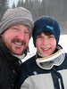 Nelson and Jonah - Breckenridge, March, 2007