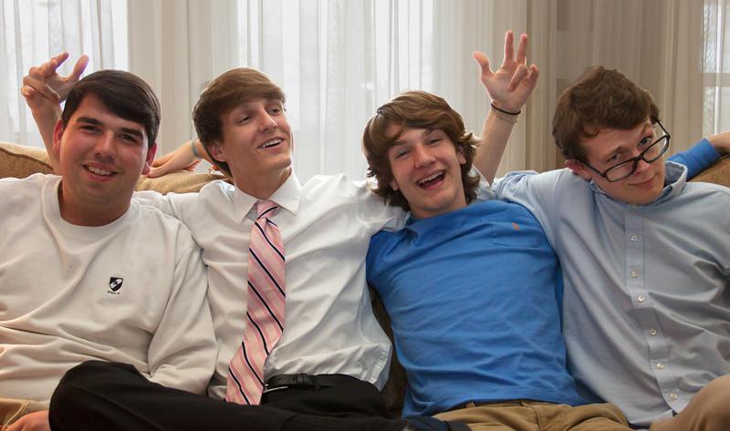 Joseph, Seth, Benjie & Jonah