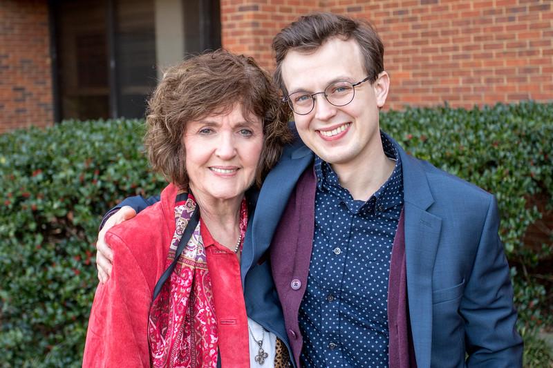 Mimi & Jonah at Seth's Graduation - 2017