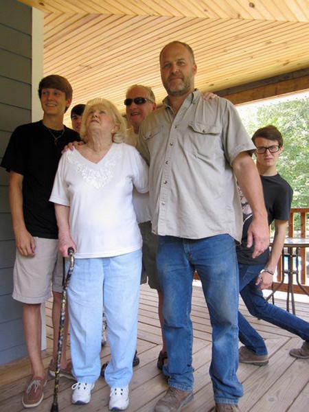 Seth, Joseph & Jonah with Grandparents
