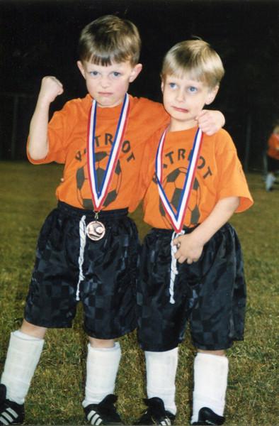 Jonah and Seth - 1999