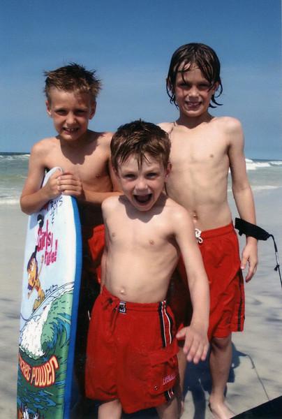 Jonah, Seth and Benjamin - 2003