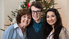 Mimi, Jonah & Melanie<br /> Christmas 2012