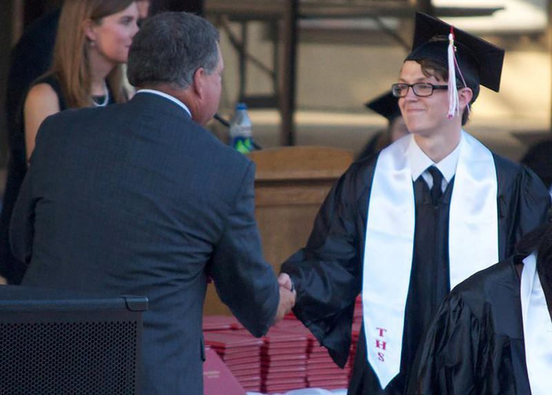 Jonah at HS Graduation<br /> May 2011