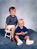 Jonah and Seth - 1995