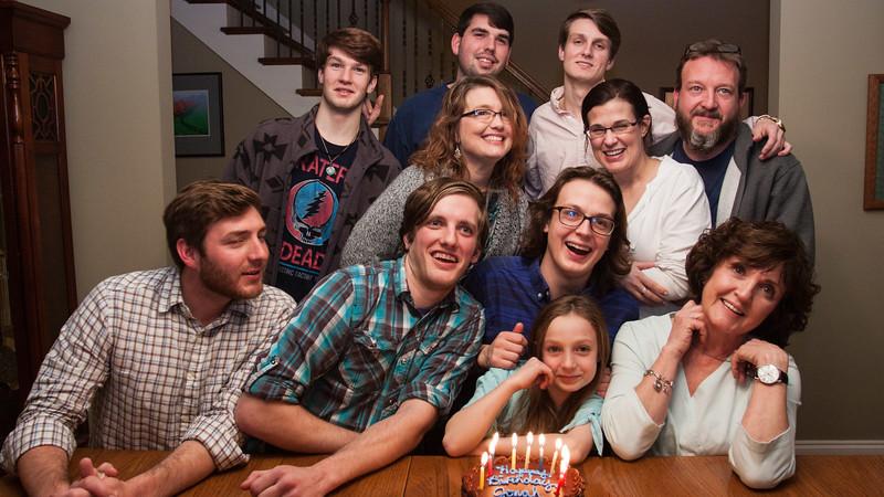 Jonah's 22nd Birthday