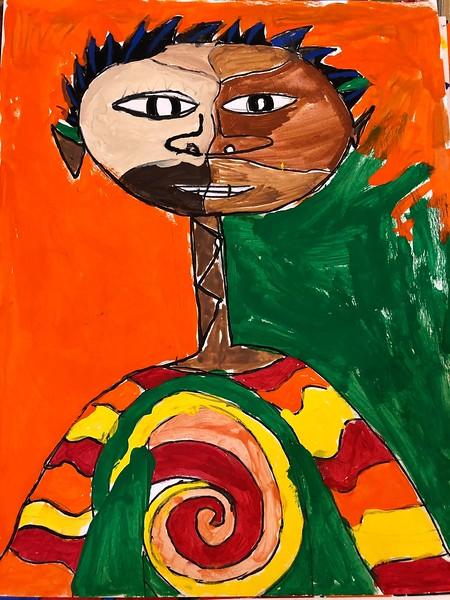 Jonah's 5th Grade Student Art