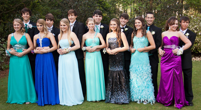 Joseph & Hanna (middle)<br /> Prom Pictures - March 31, 2012