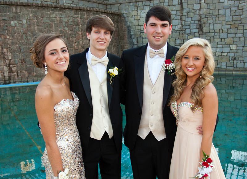 Emily, Seth, Joseph & Anna<br /> Prom Images<br /> April 2013