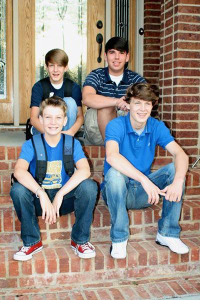 Seth, Joseph, Benjamin and Jonah