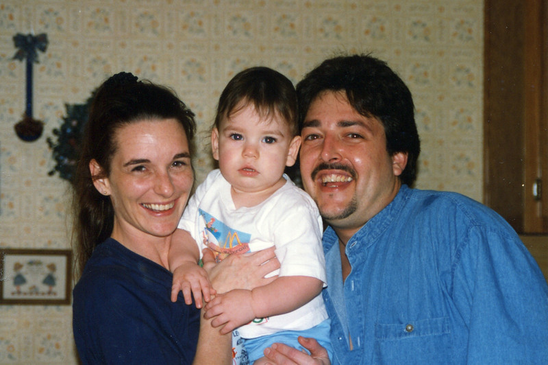 Johnny, Tammy and Joseph - 1996