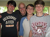 Joseph, Tom Morrison, Jonah and Seth<br /> March, 2011
