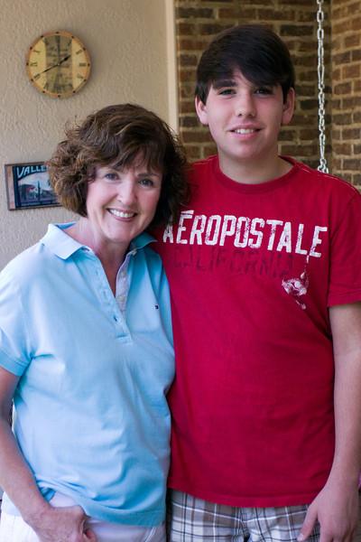 Mimi and Joseph - August, 2009