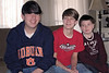 Joseph, Seth and Vincent - January, 2010