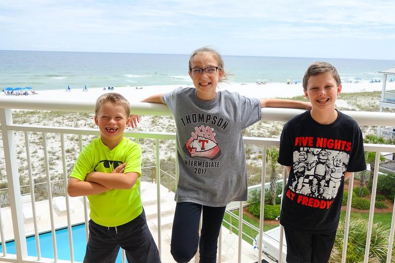 Patrick, JC & Noah