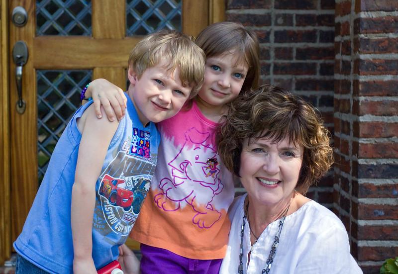 Noah, JanieCate and Mimi - June, 2011