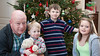 Terry, Patrick, Noah & Zoe<br /> Christmas 2012