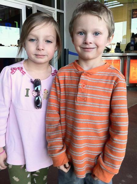 JanieCate & Noah<br /> December 2010