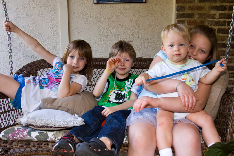 JanieCate, Noah, Patrick & Zoe - October 2011