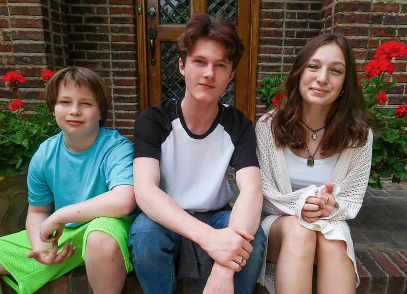 Patrick, Noah & JC
