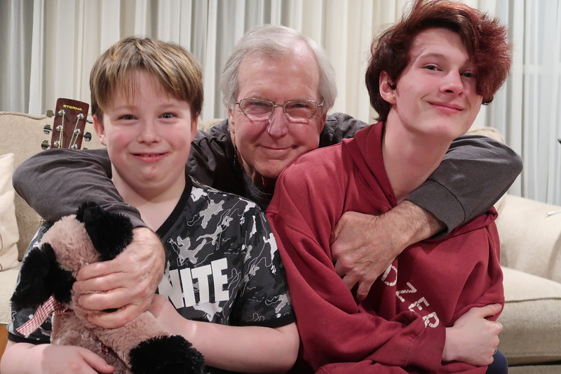 Patrick, Pop & Noah