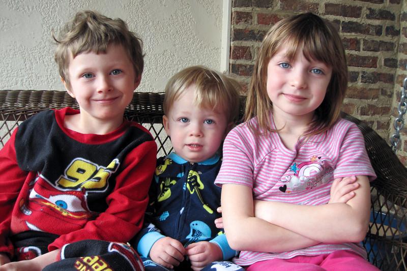 Noah, Patrick & JC - 2012