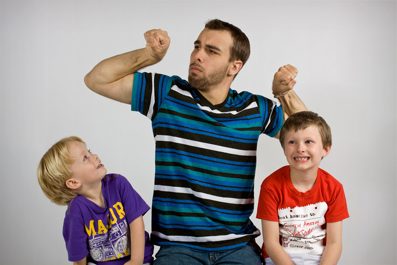 Patrick, Brady & Noah