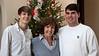 Seth, Mimi & Joseph<br /> Christmas 2012